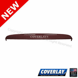 Maroon Dash Board Cover 12 126 MR For Continental Front Upper Coverlay $191.54