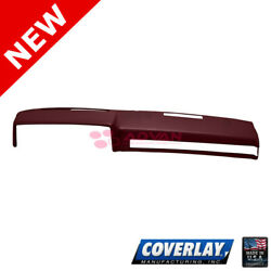Maroon Dash Board Cover 18 601 MR For Blazer K5 Coverlay $188.62