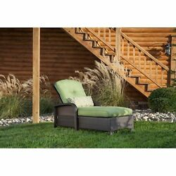 Patio Chaise Lounge Outdoor Poolside Loungers Furniture W Cushions Pillows New