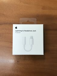 Genuine OEM Apple Lightning to Headphone Jack AUX Adapter For iPhone 7 8 X 11 $12.89
