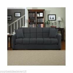 Couch SLEEPER SOFA BED Room Convertible Futon FULL SIZE Mattress Furniture Chair