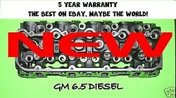 1 NEW GMCHEVY 6.5 DIESEL(90°) ANGLE CYLINDER HEAD #567  92-2000  NO CORE $400.00