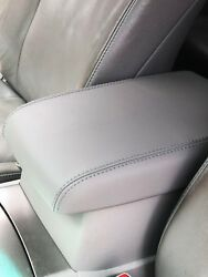 Synthetic Leather Gray Center Console Armrest Cover Fit 08-13 Toyota Highlander