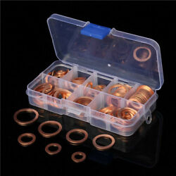 120pcs Copper Washer Kit Sump Plug Washer $16.63