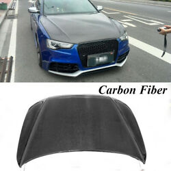 Carbon Fiber Hood Covers Engine Hoods Factory Fit for AUDI A5 S5 4Door 12-18