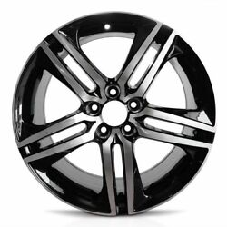 New 19'' Black Machined Aluminum Rims For 2016-2017 Honda Accord