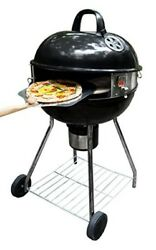 Kettle Grill Pizza Oven Stone Kit Patio Outdoor Garden Picnic Backyard Cooking