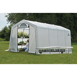Greenhouse Construction Kit Green House For Plants Large Outdoor Garden 10x20x8
