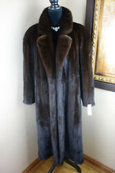Excellent Mens Large  Womens Xlarge 1x Plus Female Mink Fur Jacket Coat 3512s