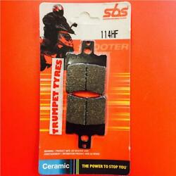 SHE-LUNG 50 Racer 96 Till Now SBS Ceramic Front Brake Pads Set OE QUALITY 114HF
