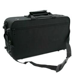New Portable Lightweight Square Messenger Case for Clarinet Black Musicians $18.04
