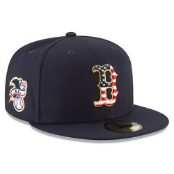 Boston Red Sox New Era 2018 Stars & Stripes 4th of July 59FIFTY Fitted Hat
