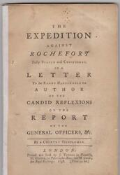 The Expedition against Rochefort fully stated and considered by T. Potter MP.