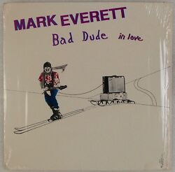 MARK EVERETT: Bad Dude in Love EELS 1st Press Private Holy Grail Vinyl LP NM-