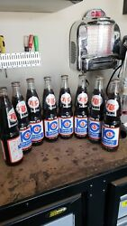 vintage ACL SODA pop BOTTLE - full RC COLA 1974-1975 KENTUCKY COLONELS - 16 oz