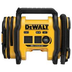 DeWALT DCC020IB 20V High Pressure Corded Cordless Air Inflator Bare Tool $99.00