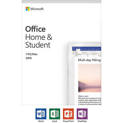 Microsoft Office Home and Student 2019 Windows Mac 1 License PC Key 79G 05029 $134.99