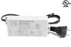 UL Listed LED Light Power supply 12v 72w Driver 6A terminal for Strip Module $21.99