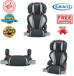 Graco High Back Booster Car Seat Kid Child Baby Toddler Chair Backless black $84.99