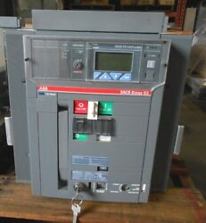 ABB E3H-A16 SACE CIRCUIT BREAKER 1600 AMP PR123P-LSIG  new accessories avail