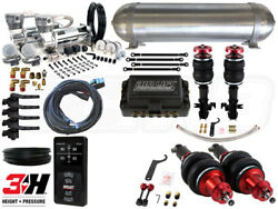 Complete Air Suspension Kit - 2010-2015 Chevrolet Camaro - LEVEL 4 wAir Lift 3H
