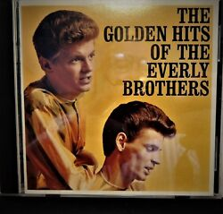 The Golden Hits Of The Everly Brothers  CD Free Shipping.... $9.95