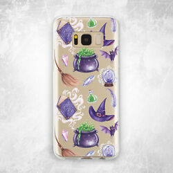 Halloween Cauldron Witchcraft Cute For Samsung Note 9 10 S8 S9 S10 Plus S10e S20 $17.99