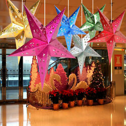 New Xmas String Hanging Star Christmas Party Decoration Christmas Tree Ornament C $2.39