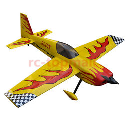 Slick 70inch 1778mm EP 3D Aerobatic RC Electric Plane ARF Oracover Film IN USA $409.00