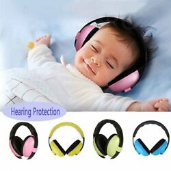 4 Colors Baby Childs Kids Ear Earmuffs Hearing Protection Adjustable Protector