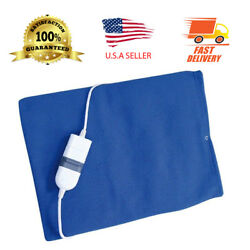 30 Second Rapid Heating Pad Fleece - For Pain Relief Bed Chairs and Back Pain