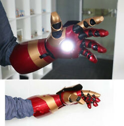 Perfect Cattoys 1:1 Iron Man Mk42 Arm With Laser DevicePalm Light Sound Effect $419.00