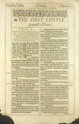 1611 KING JAMES BIBLE LEAF 11