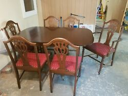 Duncan Phyfe Drop Leaf Table Or Side Board Dining Table Antique Table $300.00