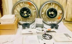 """24"""" ALBER E-MOTION M15 Power Assist Wheels w Charger Remote & Brackets #B728"""