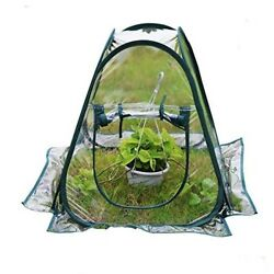 Mini Greenhouse Small Indoor Garden Flower Vegetables Herbs Portable Clear PVC