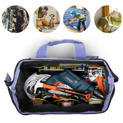 Multifunction Repair Tool Bag Canvas Fabric Electrician Pocket Storage Case Bag $15.07