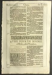 1611 KING JAMES BIBLE LEAF FIVE SETS OF 2