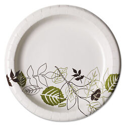 Dixie Pathways Soak-Proof Shield Mediumweight Paper Plates 8 12