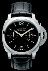 Panerai Luminor 1950 Tourbillon GMT 47mm Stainless Steel Limited 100Pcs PAM00276
