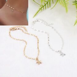 Women Sandals Summer Jewelry Anklet Starfish Pendant Ankle Chain Foot Bracelet
