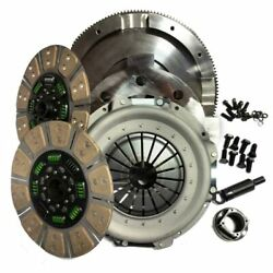 Valair Dual Disc Ceramic Clutch NMU73ZF6DDS For 1999-2003 Ford 7.3L Powerstroke