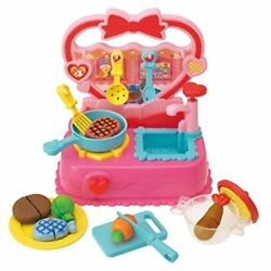 Color she can play house dishes alternative! Heart Kitchen japan Japan new .