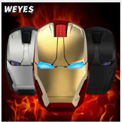 Iron Man Mouse Wireless Mouse for Gaming $14.00