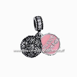 Sweet Mother Dangle Authentic Pandora Sterling Silver Charm #791285CZ