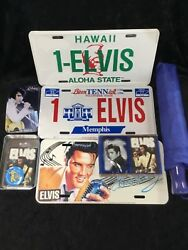 ELVIS PRESLEY NOVELTY AND SUVINEIR ITEMS $24.99