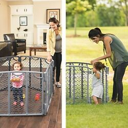 Baby Gates Safety Fence Pack and Play Safety Guard For Your Baby Playpen $90.12