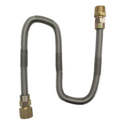 Propane Gas Line 2ft Stainless Steel Braided Hose LP LPG Grill Parts 12