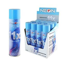 NEON 11X Butane Gas Refill Fuel Fluid Lighter Ultra Refined 11 X Times 300ML