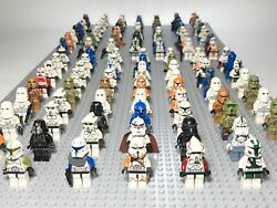 Lego Star Wars Clone Storm Troopers Captain Commander Minifigures Lot of 4 $19.95